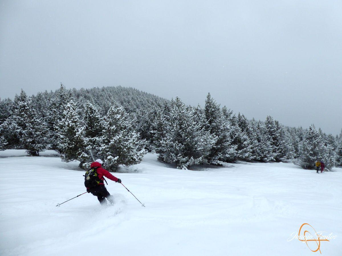 P1210201 - Décima esquiada y nueva nevada en Cerler.