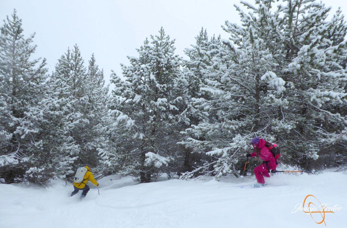 P1210208 - Décima esquiada y nueva nevada en Cerler.
