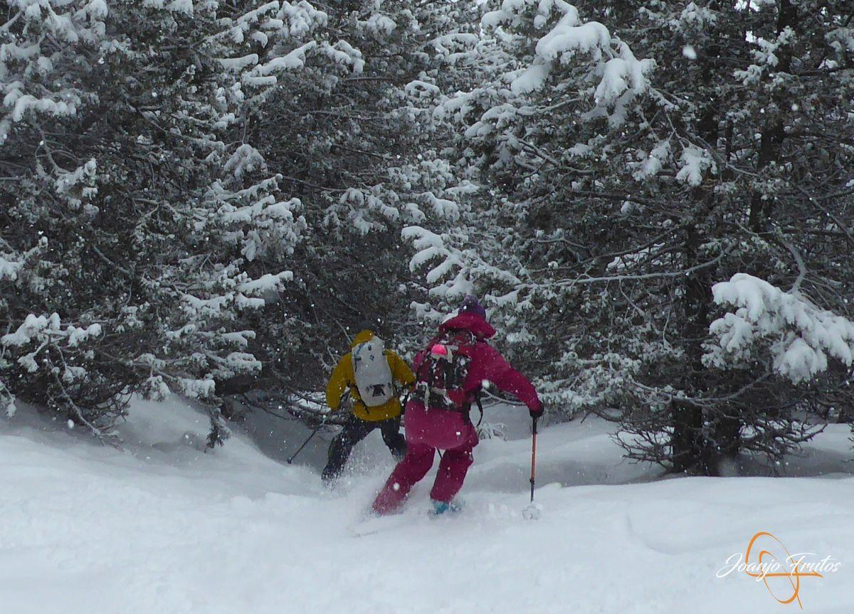 P1210210 - Décima esquiada y nueva nevada en Cerler.