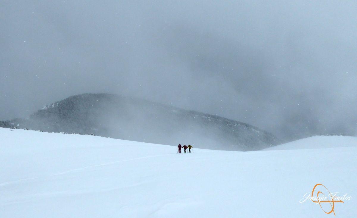P1210214 - Décima esquiada y nueva nevada en Cerler.