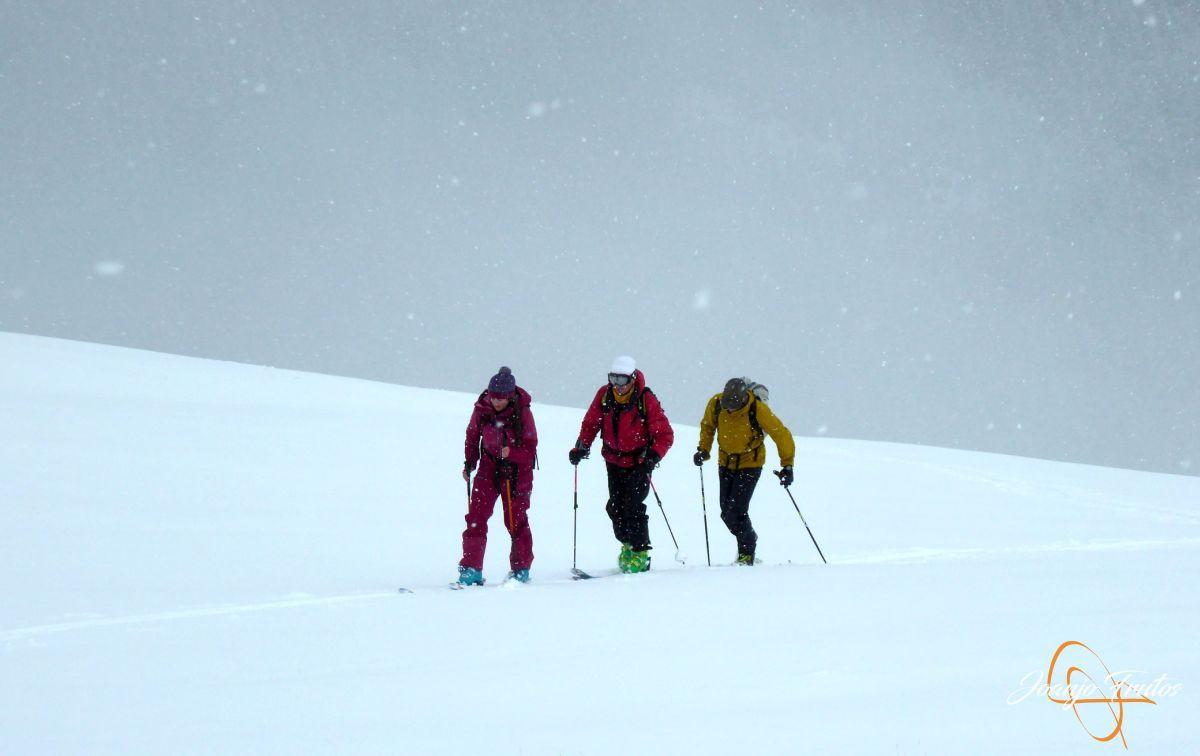 P1210217 - Décima esquiada y nueva nevada en Cerler.