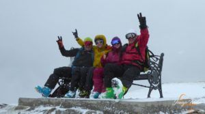 P1210237 300x167 - Décima esquiada y nueva nevada en Cerler.