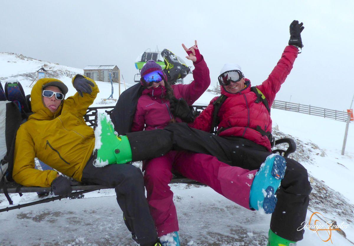P1210241 - Décima esquiada y nueva nevada en Cerler.