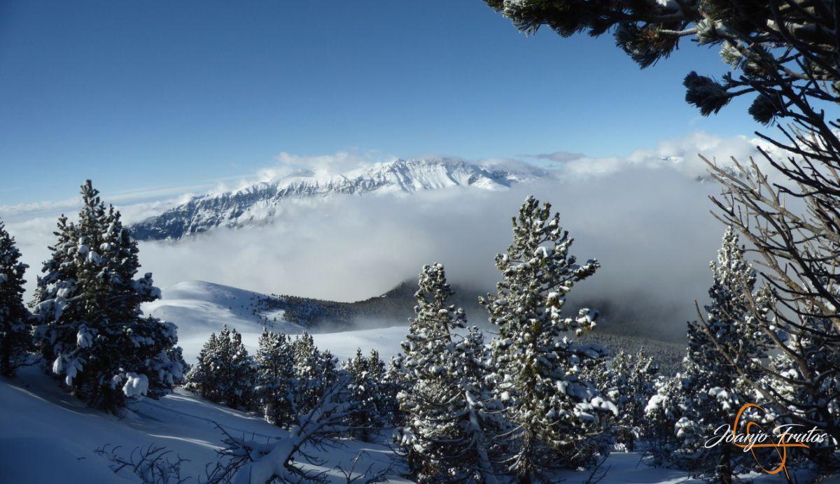 Panorama 3 1 - 14 y powder en Cerler, sin palabras.