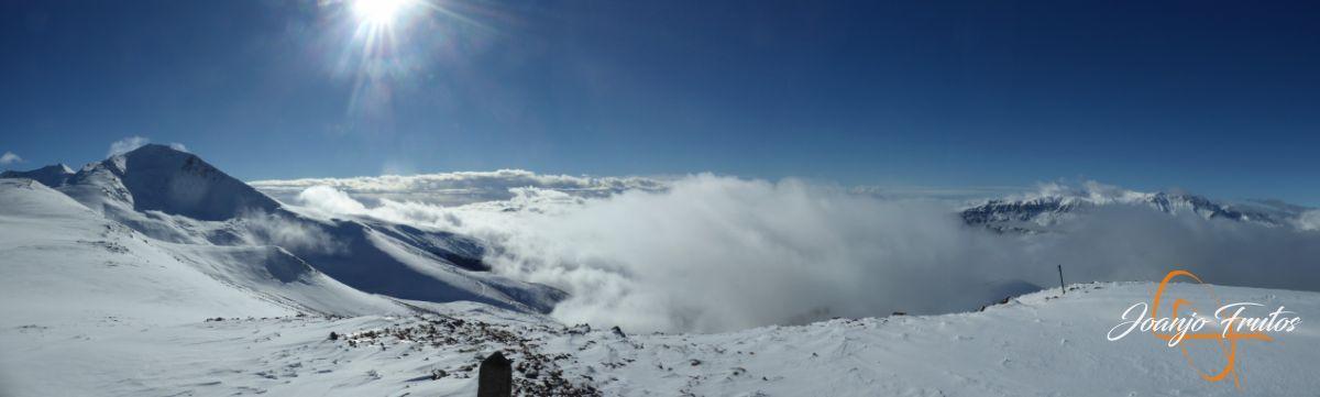Panorama 4 - 14 y powder en Cerler, sin palabras.