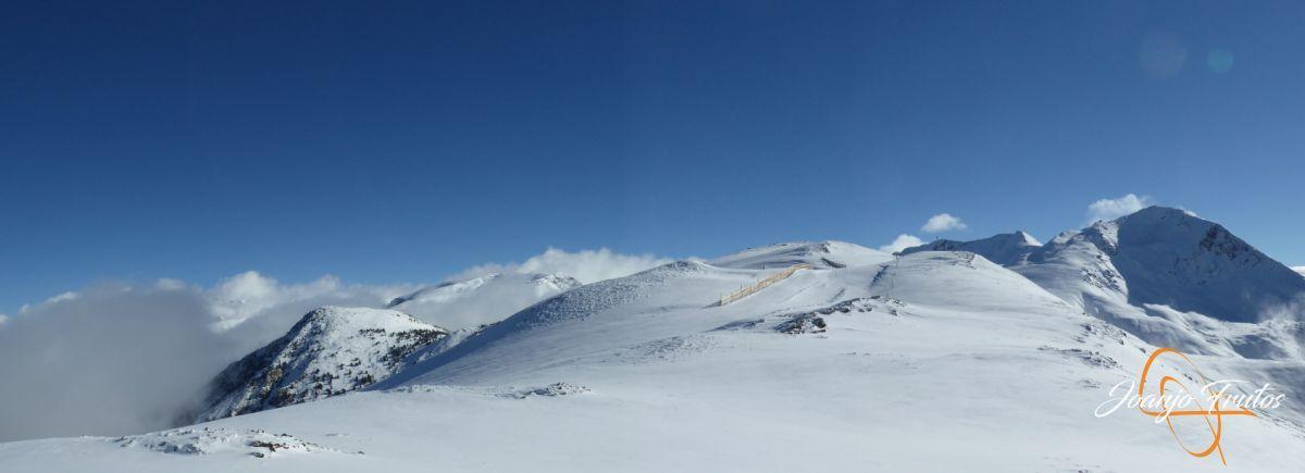 Panorama 5 - 14 y powder en Cerler, sin palabras.