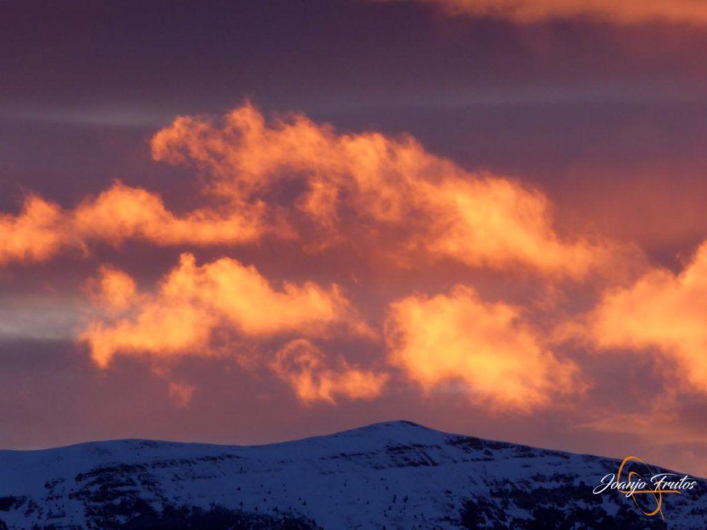 P1220381 1024x768 - Atardecer espectacular en Cerler, Valle de Benasque