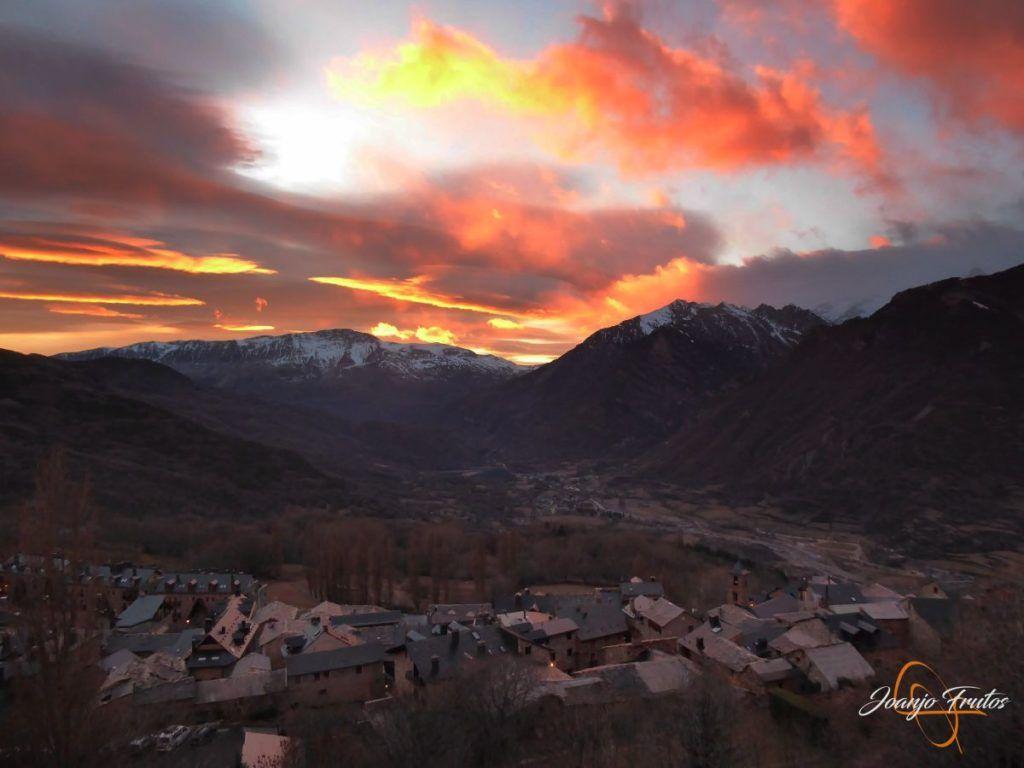 P1220382 1024x768 - Atardecer espectacular en Cerler, Valle de Benasque