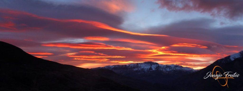 P1220390 1024x386 - Atardecer espectacular en Cerler, Valle de Benasque