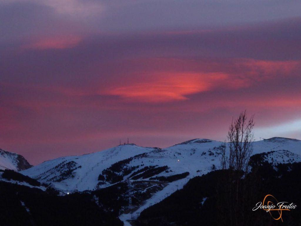 P1220392 1024x768 - Atardecer espectacular en Cerler, Valle de Benasque