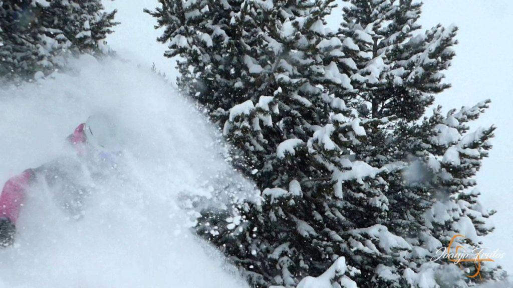 P1220835 1024x576 - Powder Day febrero empieza fuerte, Cerler.