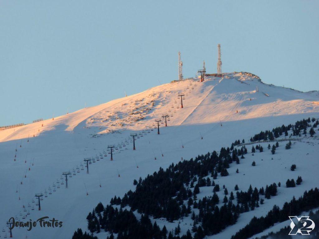 P1230341 1024x768 - Cambia la meteo y nieva en Cerler.
