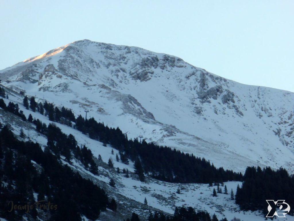 P1230342 1024x768 - Cambia la meteo y nieva en Cerler.