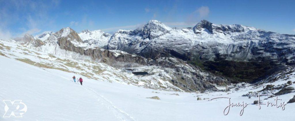 """Panorama 5 1024x421 - Maladetas, encontrando el """"powder"""" en junio."""
