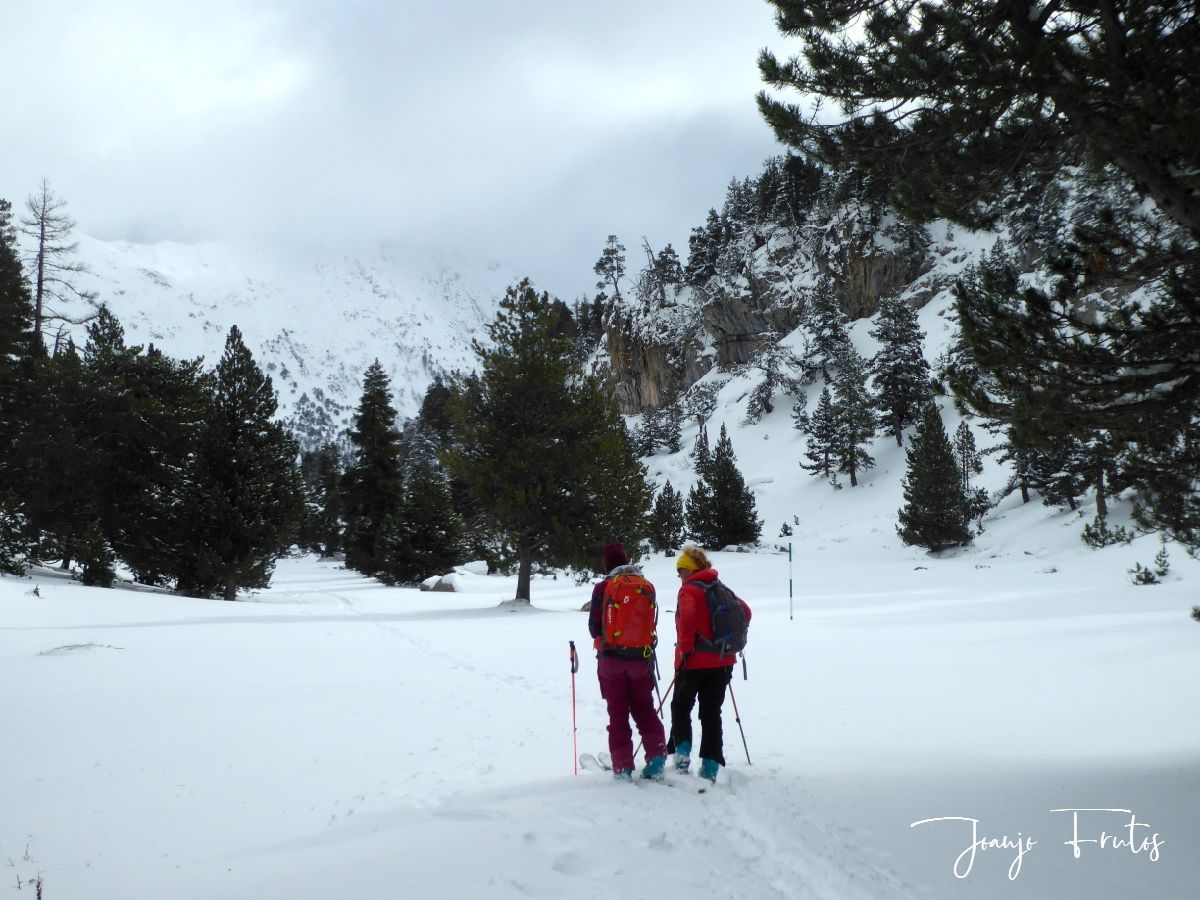 P1300421 - Votamos esquiar en familia, Valle de Benasque.