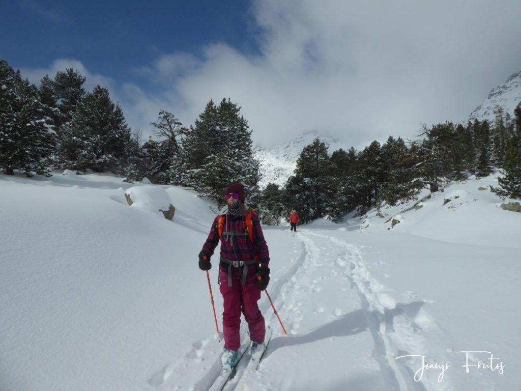 P1300427 1024x768 - Votamos esquiar en familia, Valle de Benasque.