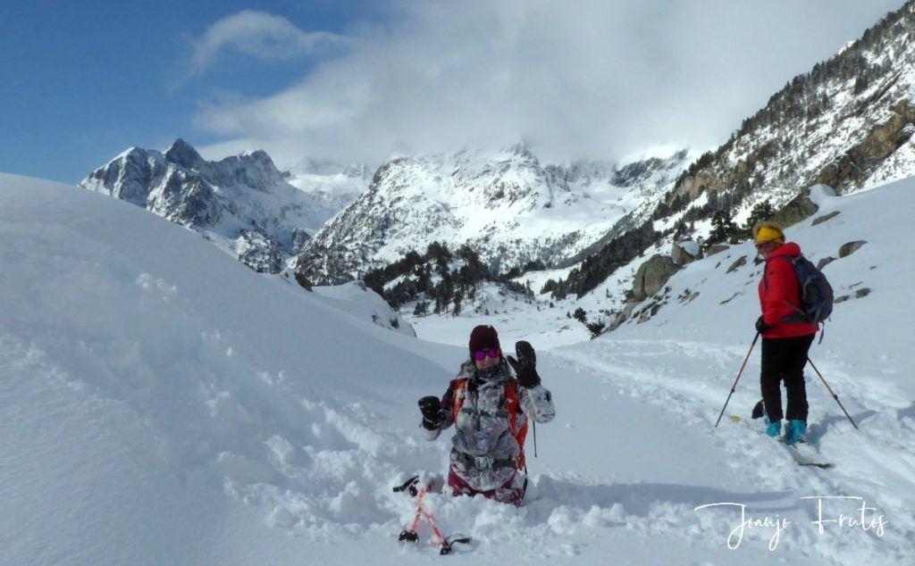 P1300444 1024x634 - Votamos esquiar en familia, Valle de Benasque.