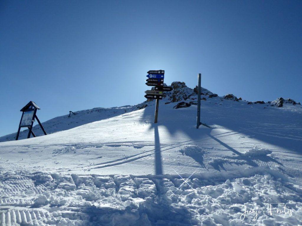 P1310016 1024x768 - Gallinero el último de skimo en noviembre.