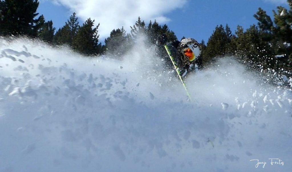 Captura de pantalla 2020 01 19 a las 15.21.32 1024x603 - Y llegó la primera nevada del 2020 en Cerler (Valle de Benasque)