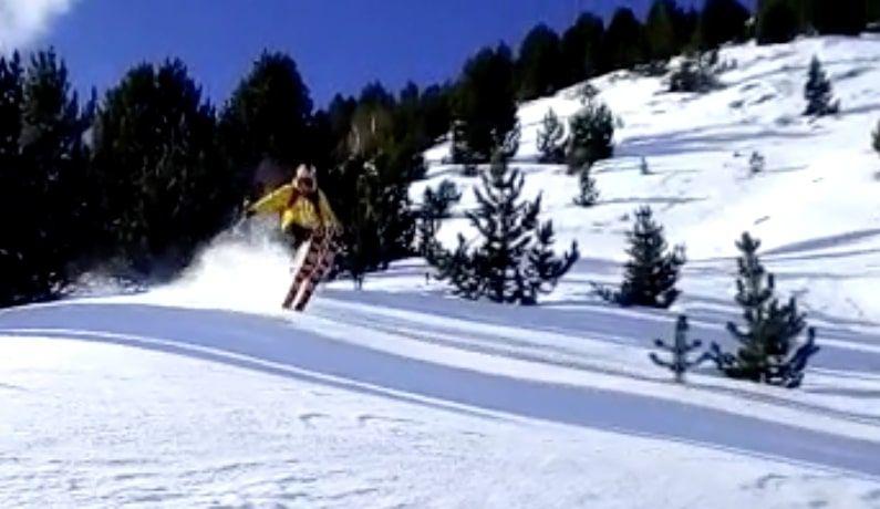 Captura de pantalla 2020 01 19 a las 16.28.32 - Y llegó la primera nevada del 2020 en Cerler (Valle de Benasque)
