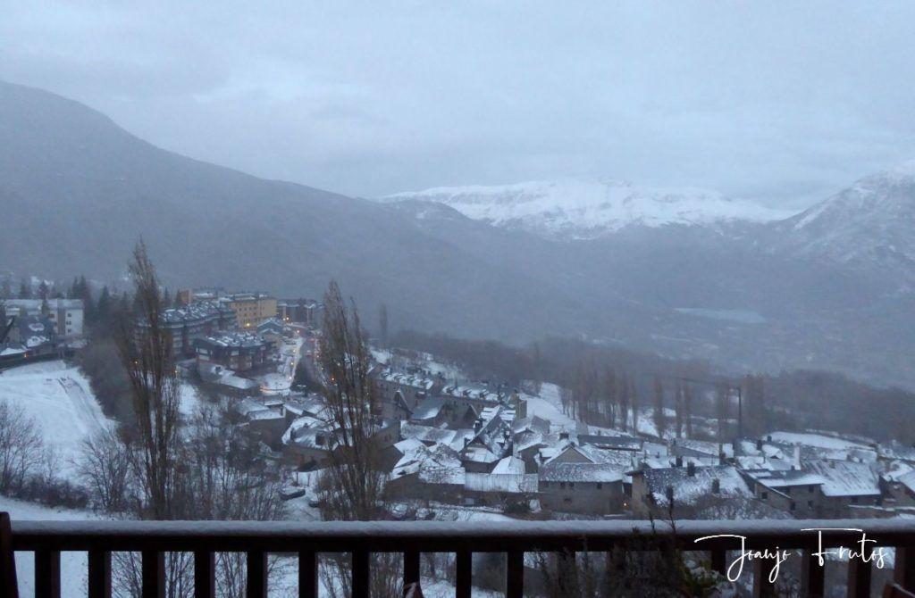 P1310343 1024x670 - Y llegó la primera nevada del 2020 en Cerler (Valle de Benasque)