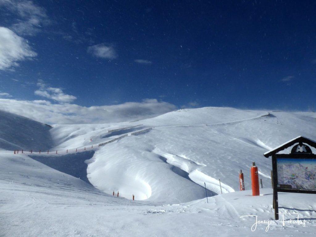 P1310350 1024x768 - Y llegó la primera nevada del 2020 en Cerler (Valle de Benasque)