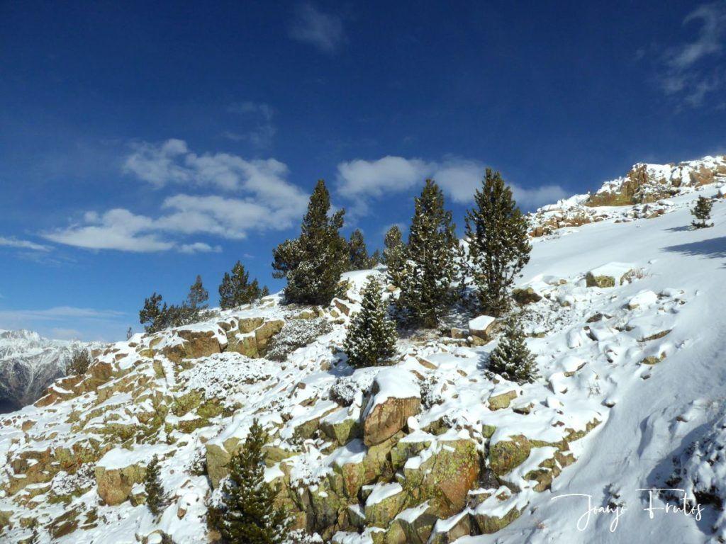 P1310355 1024x768 - Y llegó la primera nevada del 2020 en Cerler (Valle de Benasque)