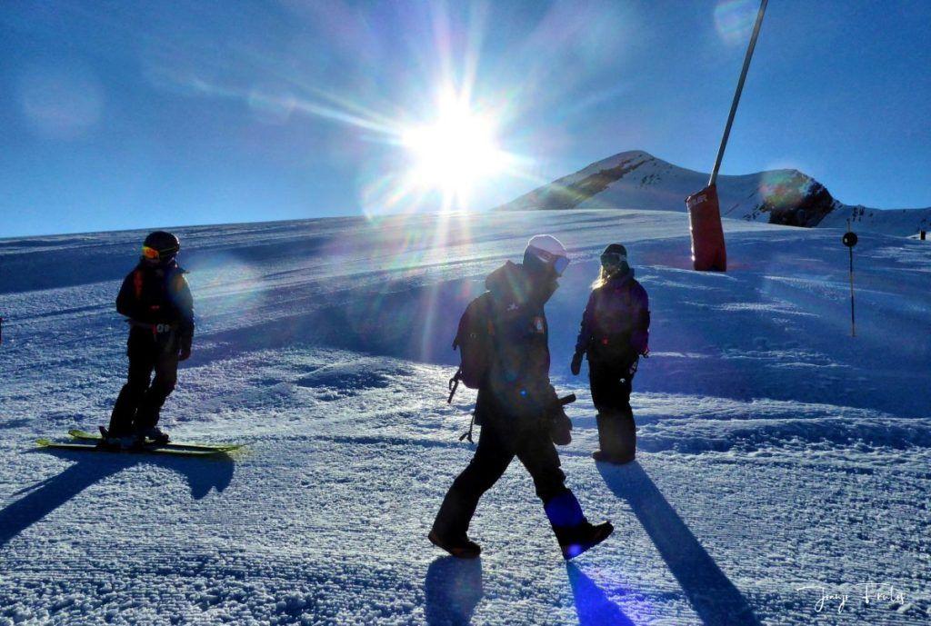 P1310658 fhdr 001 1024x689 - Curso formación rescate en caso de alud de nieve.