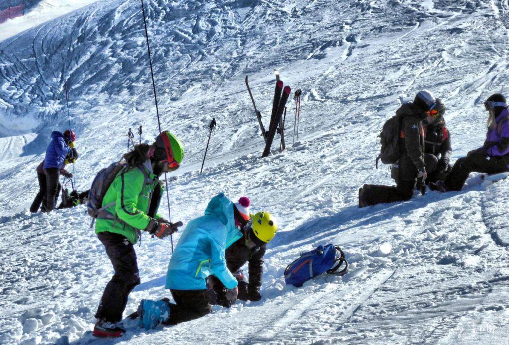 P1310675 fhdr 001 1024x694 - Curso formación rescate en caso de alud de nieve.