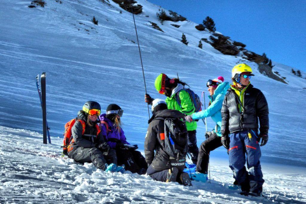 P1310677 fhdr 001 1024x682 - Curso formación rescate en caso de alud de nieve.