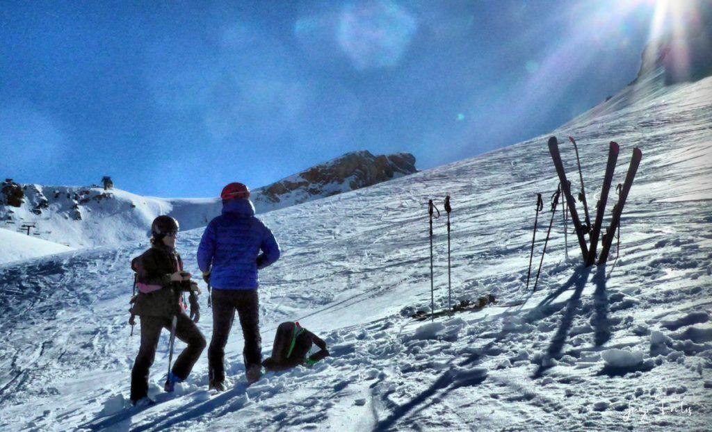 P1310679 fhdr 001 1024x622 - Curso formación rescate en caso de alud de nieve.