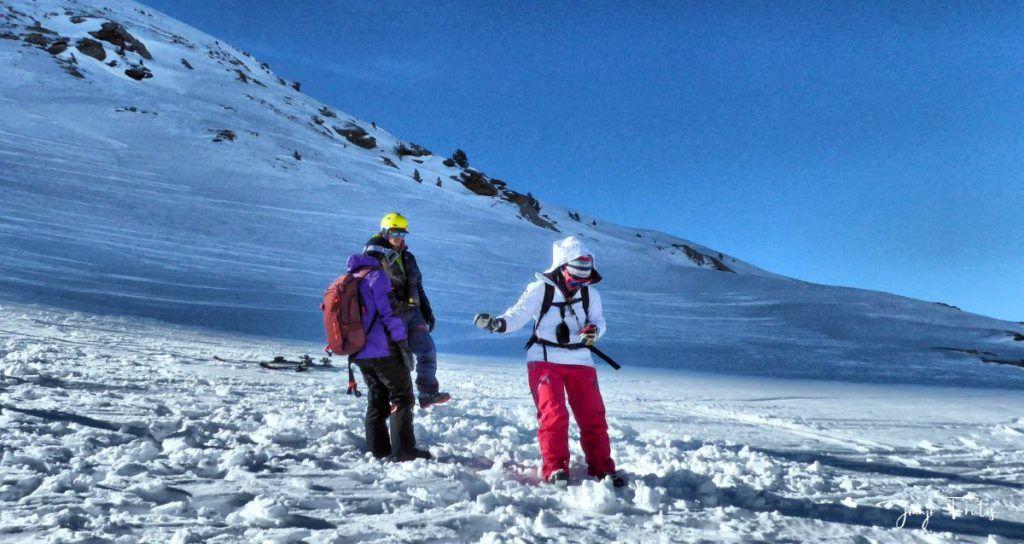 P1310681 fhdr 001 1024x544 - Curso formación rescate en caso de alud de nieve.