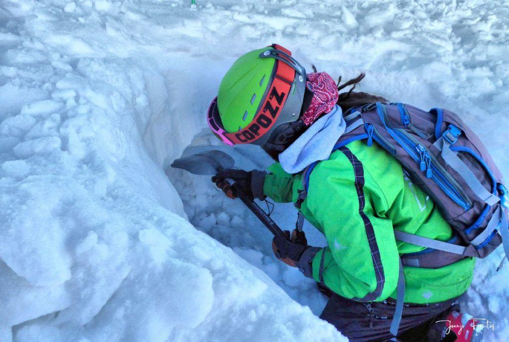 P1310692 fhdr 001 1024x689 - Curso formación rescate en caso de alud de nieve.