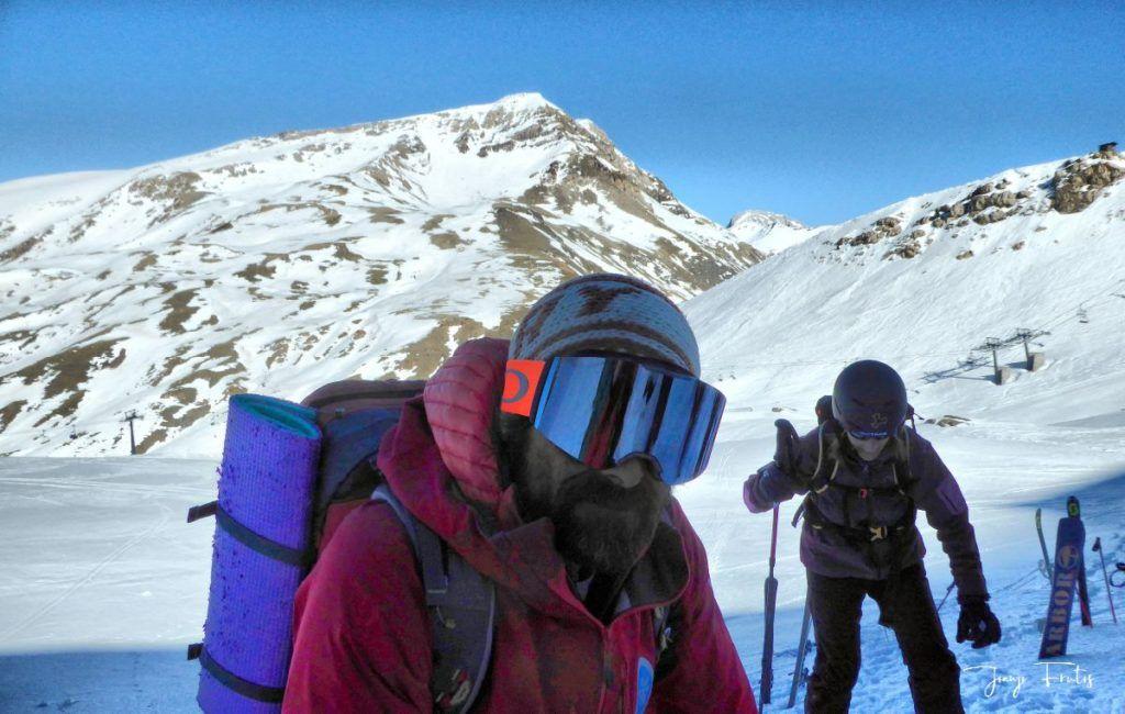 P1310701 fhdr 001 1024x650 - Curso formación rescate en caso de alud de nieve.