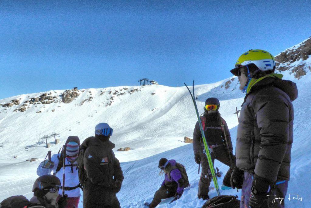 P1310703 fhdr 001 1024x687 - Curso formación rescate en caso de alud de nieve.