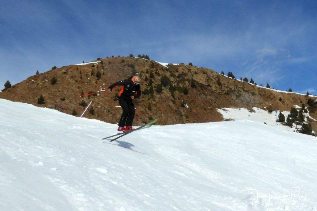 P1310739 1024x684 - Rozando los 80 días esquiados ya en Cerler ...