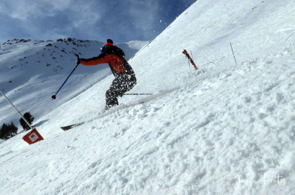 P1310750 1024x678 - Rozando los 80 días esquiados ya en Cerler ...