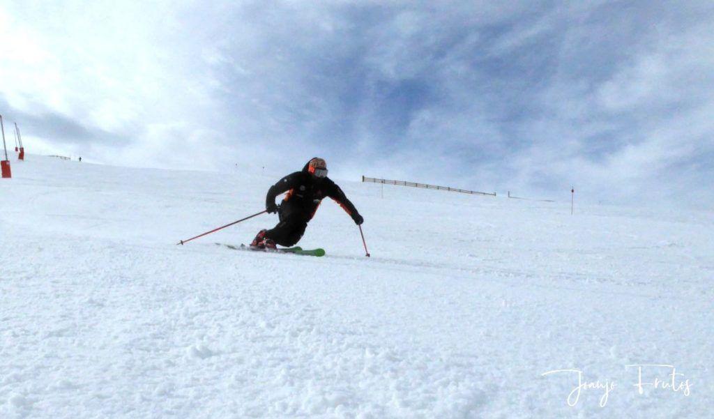 P1310782 1024x601 - Rozando los 80 días esquiados ya en Cerler ...