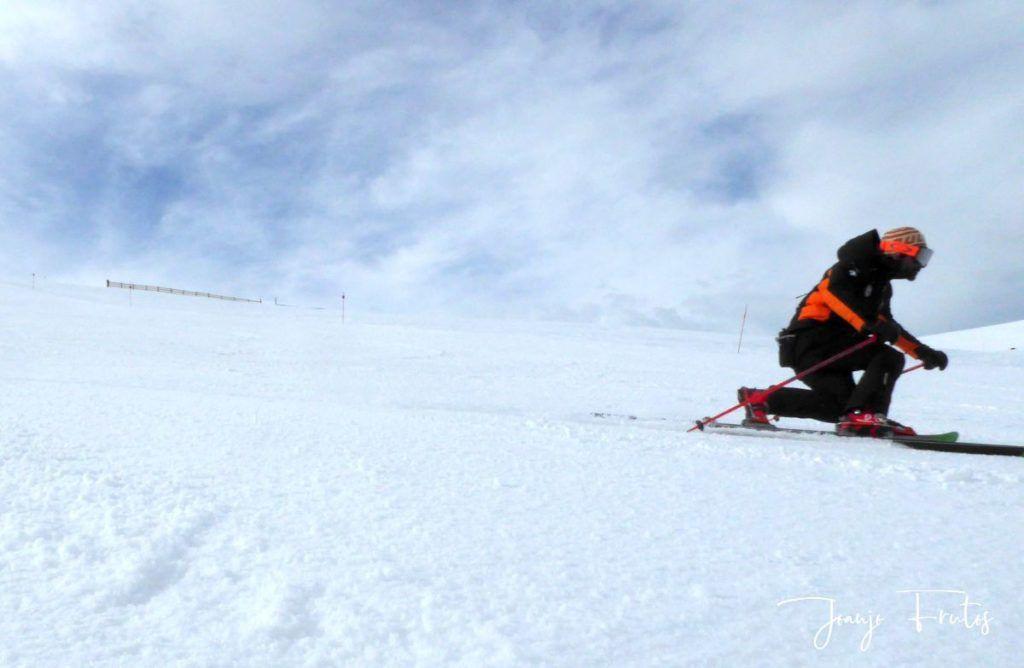 P1310783 1024x668 - Rozando los 80 días esquiados ya en Cerler ...