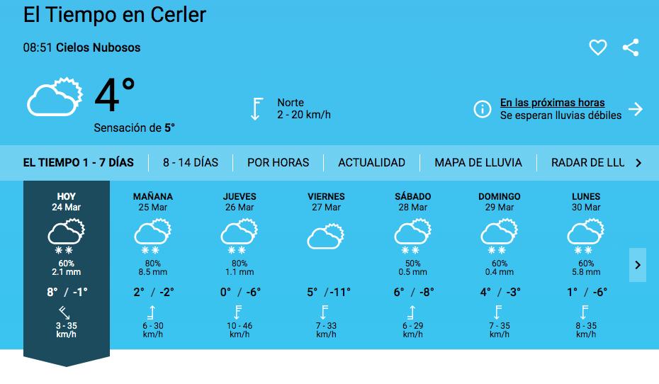 Captura de pantalla 2020 03 24 a las 8.51.39 - Y va a volver a nevar en Cerler.