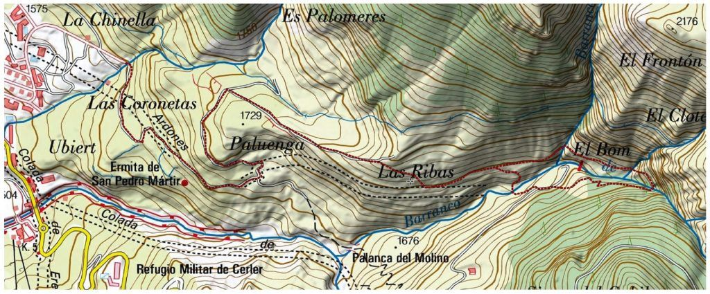 boom mapa 1024x425 - Las Tres Cascadas de Cerler.