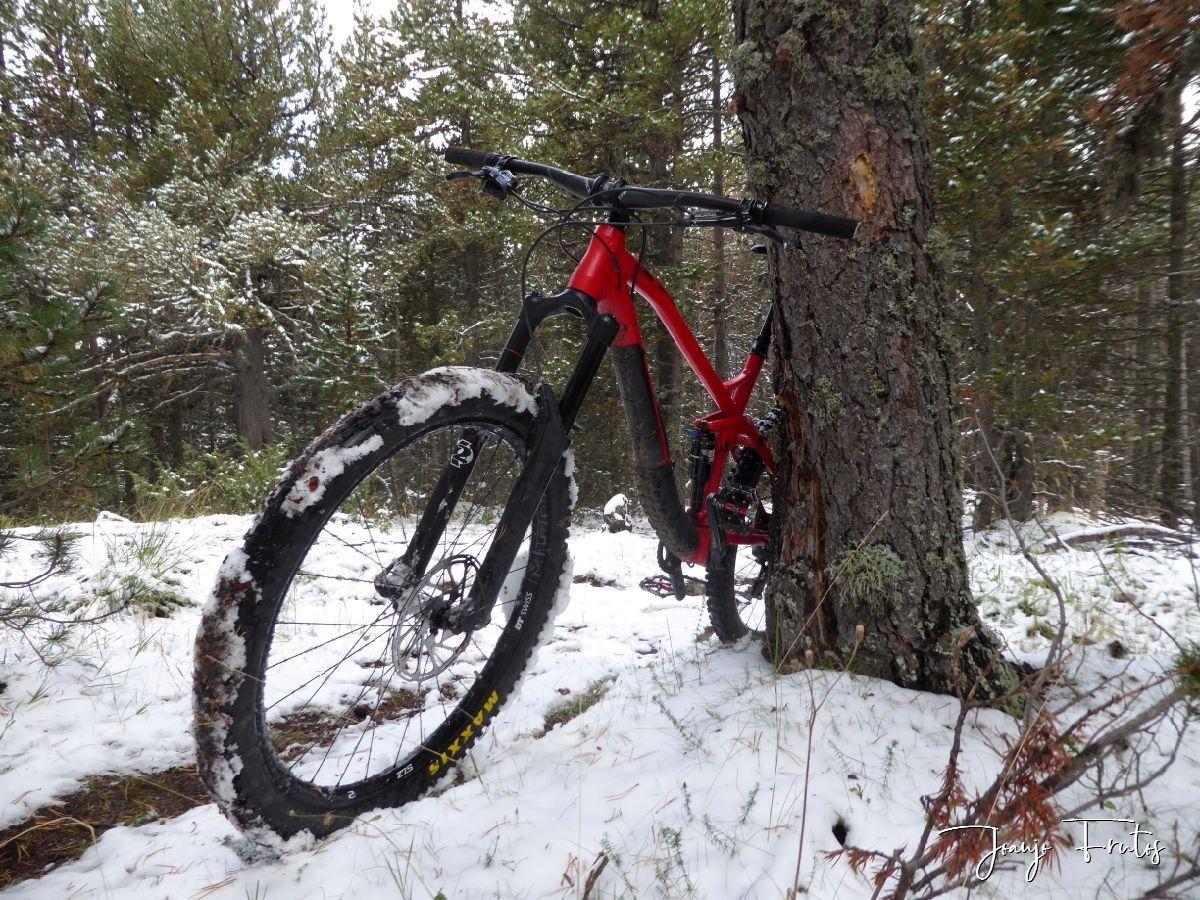 P1340515 - SnowBike por senderos de Cerler