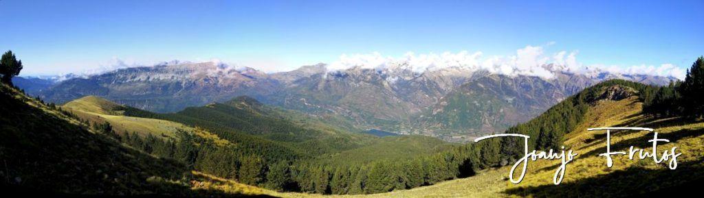 Panorama 2 001 1024x289 - Paseando por Cerler Estación de Esquí.
