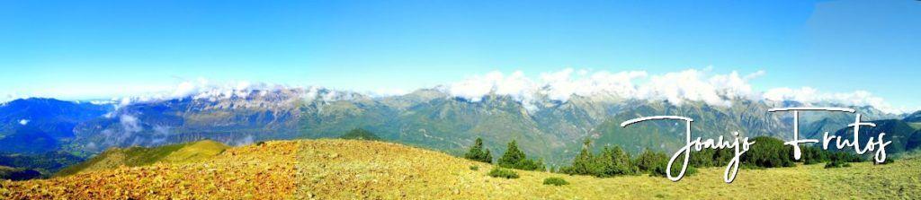 Panorama 4 001 1024x223 - Paseando por Cerler Estación de Esquí.