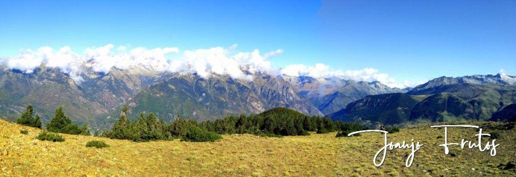 Panorama 5 001 1024x352 - Paseando por Cerler Estación de Esquí.