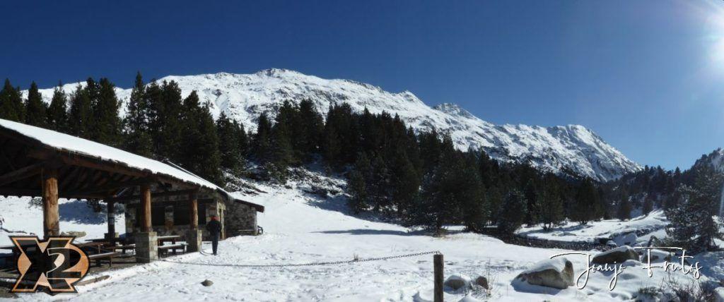 La besurta en octubre 1024x428 - La Besurta nevada en octubre.