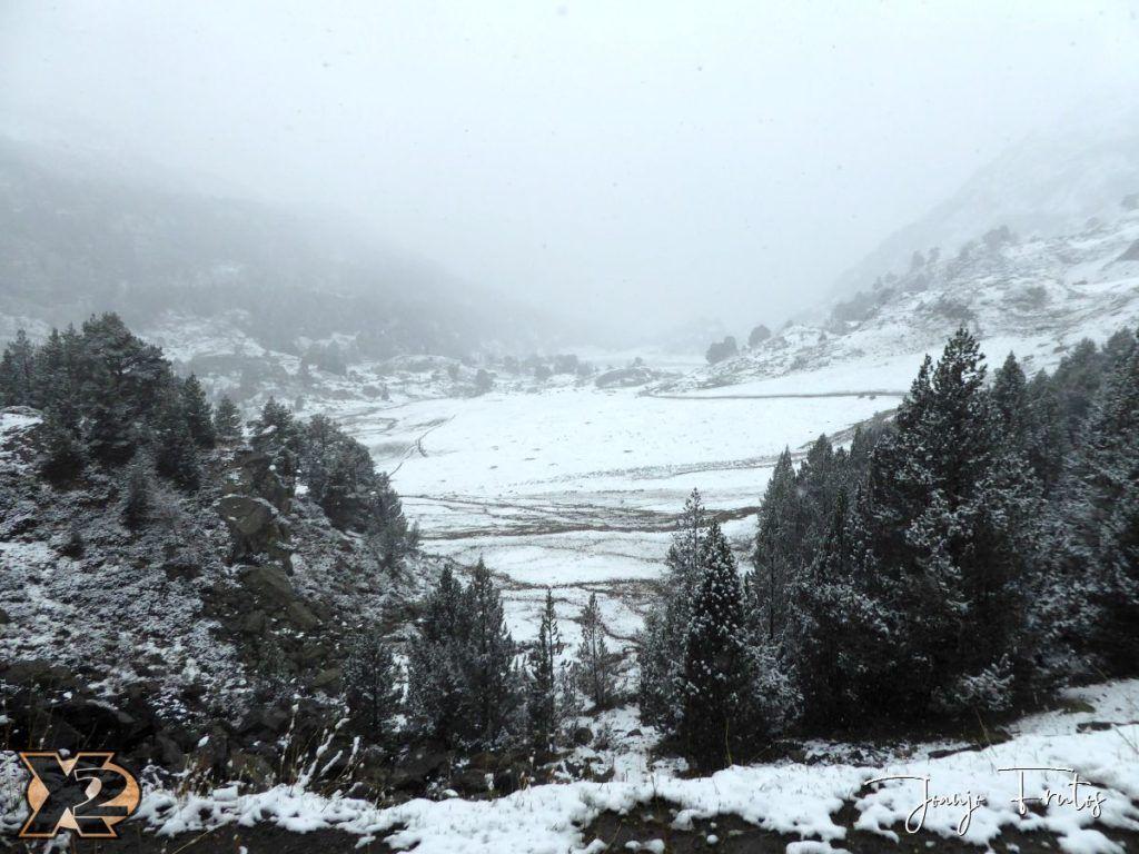 P1350707 1024x768 - Y otra nevada en Cerler y Valle de Benasque.