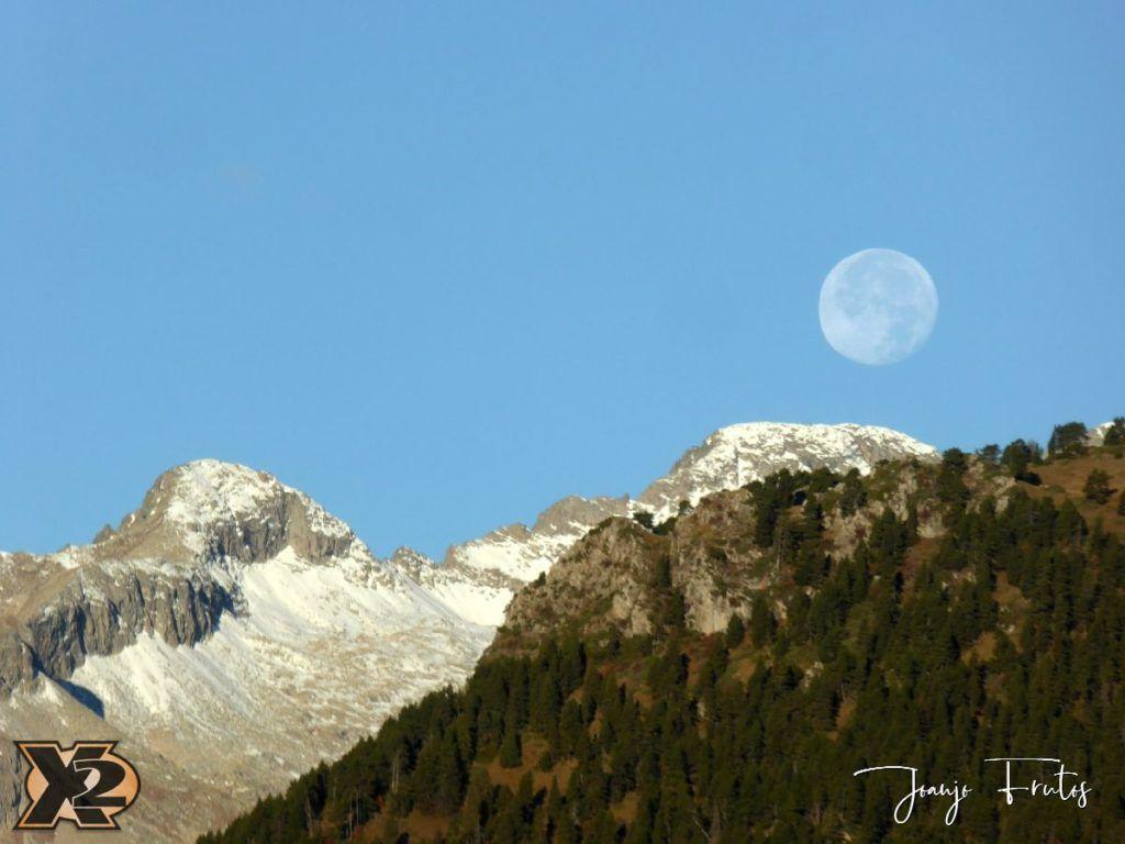 P1350794 1024x768 - Hojas de otoño con Luna Llena.