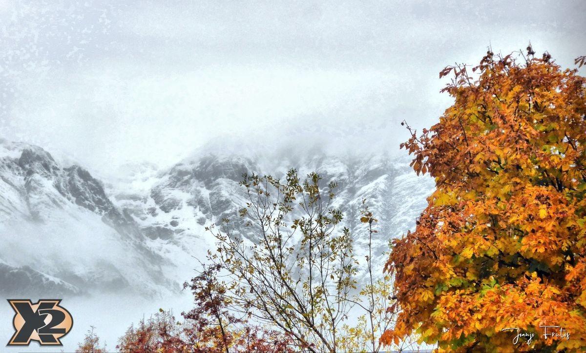 P1350866 fhdr - Primera nevada de noviembre en Cerler.