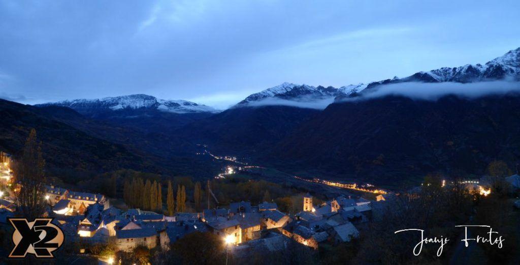 Panorama 3 1024x521 - Primera nevada de noviembre en Cerler.